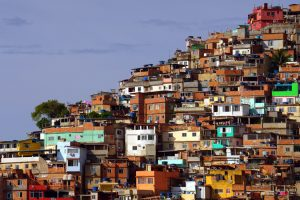 ブラジルのファベーラ(スラム街)